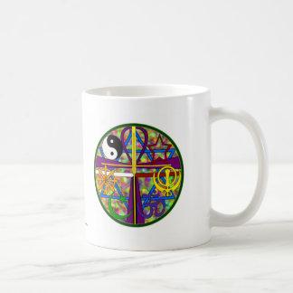 Mug Symboles de chant religieux d'unité