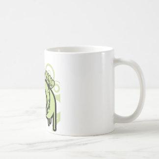 Mug SYR s'égouttant le logo vert