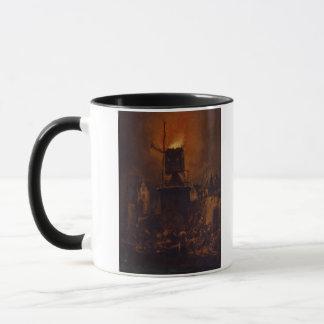 Mug T30554A le moulin à vent brûlant, 1662 (panneau)