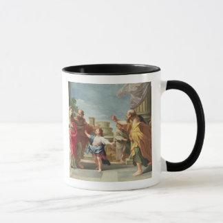 Mug T32126 le Christ prêchant dans le temple