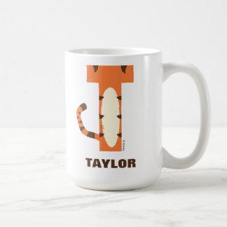 Mug T est pour Tigger | ajoutent votre nom