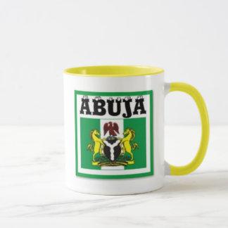 Mug T-shirt de carte de NO1 Abuja, du Nigéria et etc.