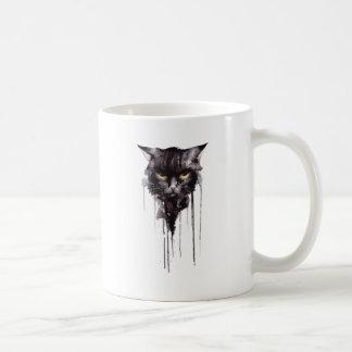 Mug T-shirt fâché de chat