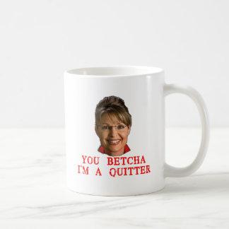 Mug T-shirts de renonceur de Sarah Palin, boutons,