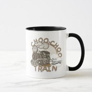 Mug T-shirts et cadeaux de train de Choo-Choo