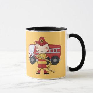 Mug T-shirts et cadeaux masculins de sapeur-pompier