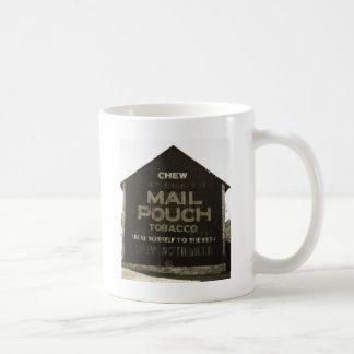 Mug Tabac de poche de courrier de mastication -