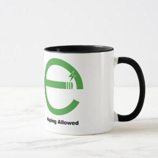 Mug Tabagisme interdit. Vaping a laissé