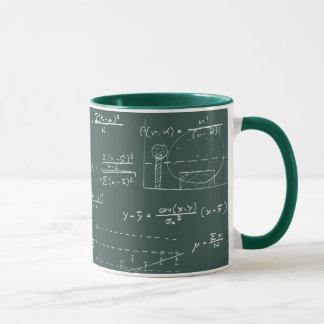 Mug Tableau noir de statistiques