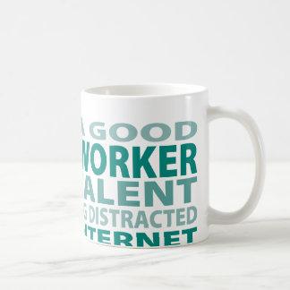Mug Talent de l'assistant social 3%