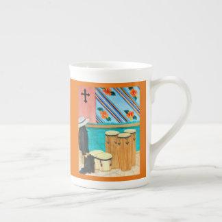 "Mug Tambours au Panama aquarelle ""après yole"""
