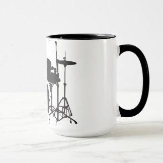 Mug Tambours de rock d'Oxygentees