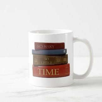 Mug Tant de livres tellement peu d'heure