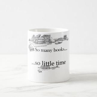 Mug Tant de livres, tellement peu d'heure