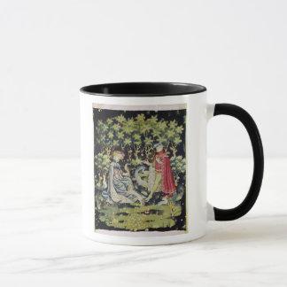 Mug Tapisserie d'Arras, offre du coeur