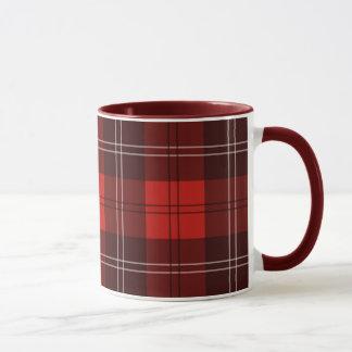 Mug Tartan rouge
