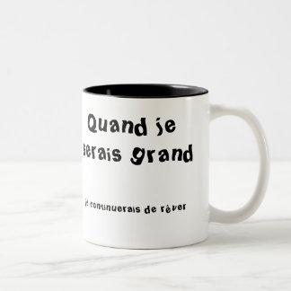 Mug tasse 325 ml Superbe et poétique!