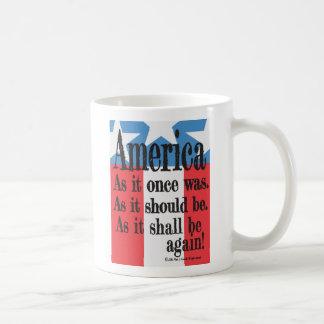 """Mug """"Tasse de café d'un pain grillé américain"""""""