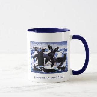 Mug Tasse/pingouins d'Adelie au nord d'île de Franklin
