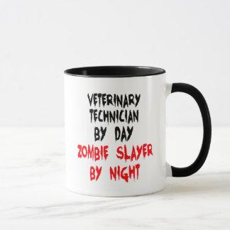 Mug Technicien de vétérinaire de tueur de zombi