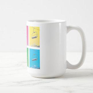 Mug Télésiège 4 colors Pop
