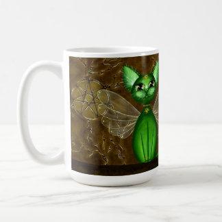 Mug Temple féerique, manchon féerique de café de Kitty