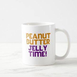 Mug Temps de gelée de beurre d'arachide