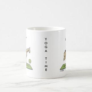 Mug Temps de yoga de demi-lune