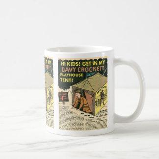 Mug Tente de maison de théâtre de Davy Crockett