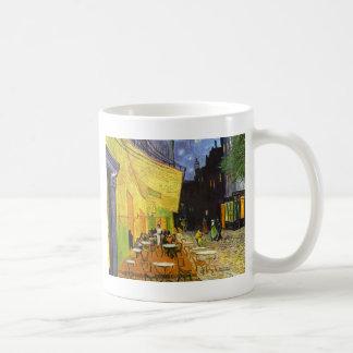 Mug Terrasse de café de Van Gogh la nuit