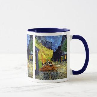 Mug Terrasse de café la nuit par Van Gogh
