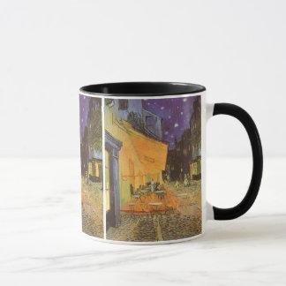 Mug Terrasse de café la nuit par Vincent van Gogh