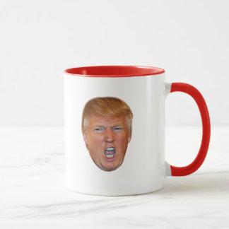 Mug Tête de flottement de Donald Trump