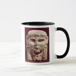 Mug Tête de la déesse Ishtar, d'Amman, la Jordanie