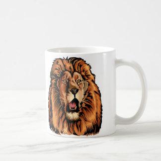 Mug tête de lion