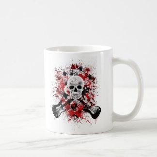 mug tete de mort