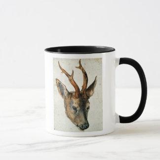 Mug Tête d'un cerf commun d'oeufs de poisson