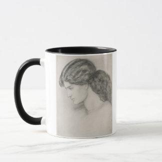 Mug Tête d'une femme, 1861 (crayon sur le papier)