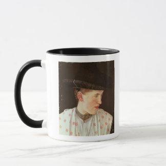 Mug Tête d'une fille rurale, c.1880