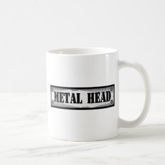 Mug Tête en métal