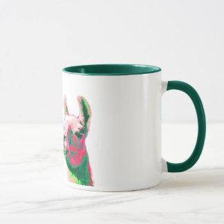 Mug Têtes de lama dans un graphique contemporain