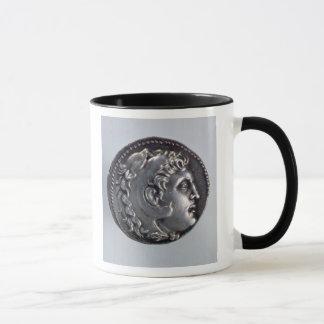 Mug Tetradrachma dépeignant Alexandre le grand