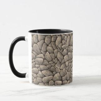 Mug Texture en pierre de bande dessinée