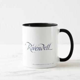 Mug Texturisé nommé de Rivendell