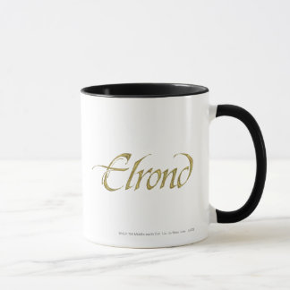 Mug Texturisé nommé d'ELROND™