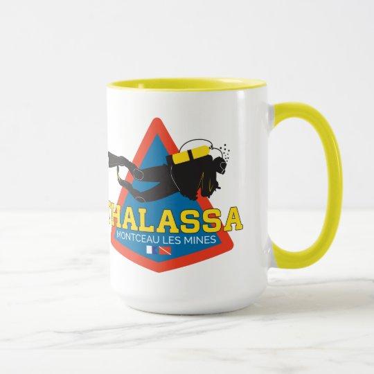 Mug THALASSA 440ml Jaune