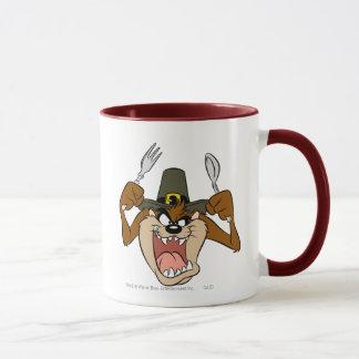 Mug Thanksgiving de pèlerin de TAZ™ en couleurs