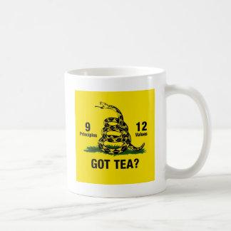 Mug Thé obtenu ? Ne marchez pas sur moi 9-12