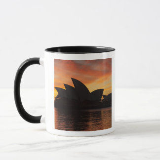 Mug Théatre de l'opéra de Sydney à l'aube, Sydney,