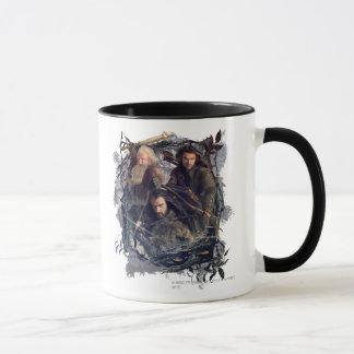 Mug Thorin, Kili, et graphique de Balin